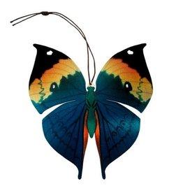 Tulia Artisans Dead Leaf Butterfly Ornament