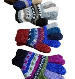 Ganesh Himal Handknit Wool Gloves
