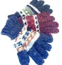 Ganesh Himal Knit Glove Hemp Wool Blend