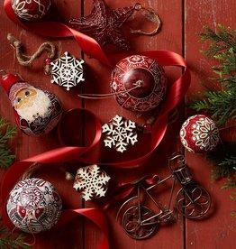 Serrv Bicycle Ornament