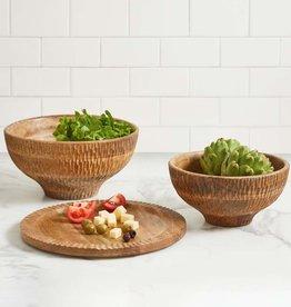 Serrv Mango Wood Bowl - Large