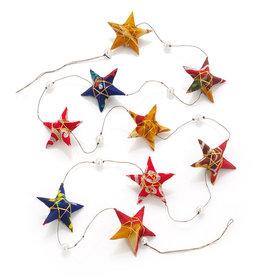 Serrv Sari Star Garland
