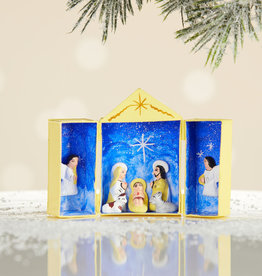Serrv Starlight Matchbox Nativity