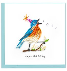 Quilling Card Happy Hatch Day