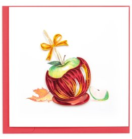 Quilling Card Quilled Candy Apple Greeting Card