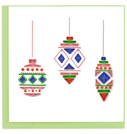 Quilling Card Quilled Modern Ornaments Christmas Card