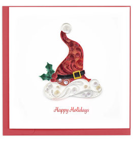 Quilling Card Quilled Santa Hat Christmas Card