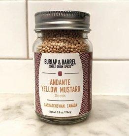 Burlap & Barrel Andante Yellow Mustard Seeds