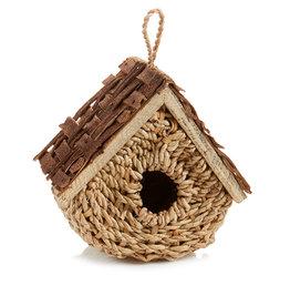 Serrv Basket Birdhouse