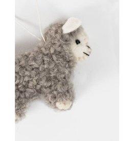 Fleece Navidad Sheep Ornament