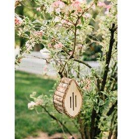 Ten Thousand Villages Wooden Butterfly House