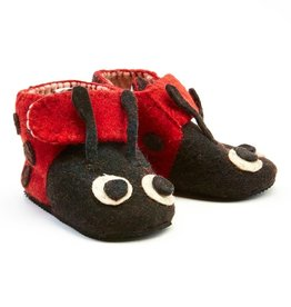Silk Road Bazaar Ladybug Toddler Zooties  | 1-2yrs