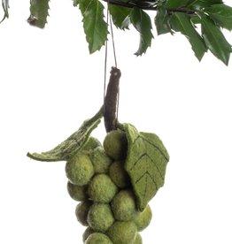 Silk Road Bazaar Green Grape Ornament