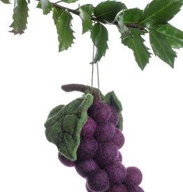 Silk Road Bazaar Purple Grape Ornament