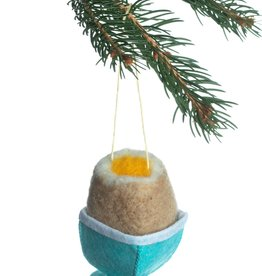 Silk Road Bazaar Soft Boiled Egg Ornament