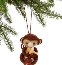 Silk Road Bazaar Monkey Ornament