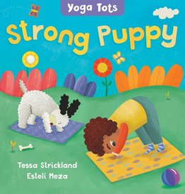 Barefoot Books Yoga Tots: Strong Puppy board book