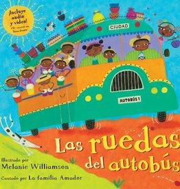 Barefoot Books Las Ruedas del Autobús paperback w/ CD