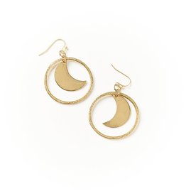 Matr Boomie Diya Earrings - Crescent