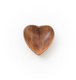 Matr Boomie Mango Wood Pinch Dish - Heart