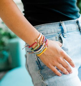 Lucia's Imports Earth Elements String Bracelets, Assorted Colors
