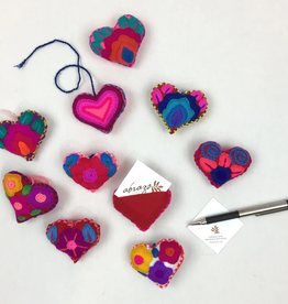 Abrazo Message Heart - large