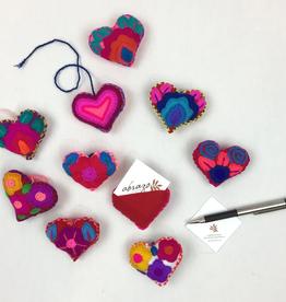 Abrazo Message Heart - small