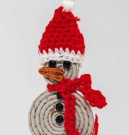 Snug Snowman Ornament