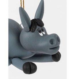 Ten Thousand Villages Curious Donkey Ornament