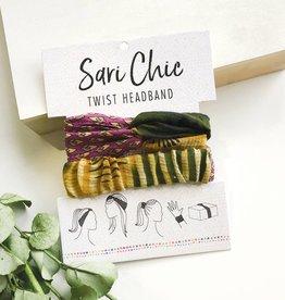 WorldFinds Sari Chic Twist Headband