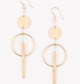 Mata Traders Olinda Gold Earrings