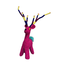 Nativa Holiday Wool Deer   Multi