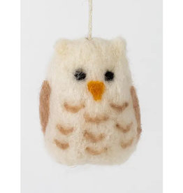 Ten Thousand Villages Wool Owl Ornament