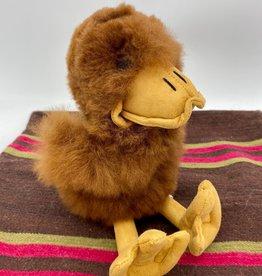 Blossom Inspirations Duck Alpaca fur toy - brown