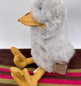 Blossom Inspirations Duck Alpaca fur toy - grey