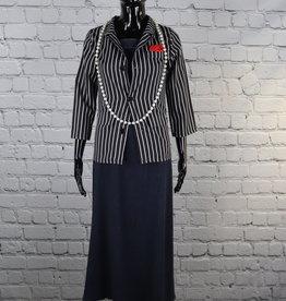 Unknown Brand: Striped Blazer for Gals