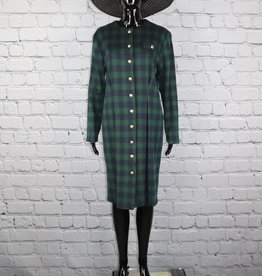 Miss Dorby: Vintage Plaid Dress