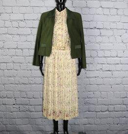 Lady Carol: Floral Pleated Dress