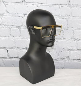 Unisex Large Clear Glasses (Forever Clear)