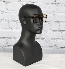 Square Unisex Clear Glasses