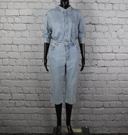 Gloria Vanderbilt: Denim High Waist Capris for Gals