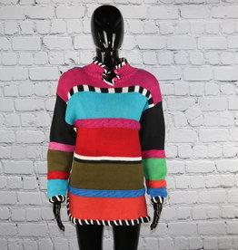Lisa Nichols: Vintage Colorful Block Sweater for Gals