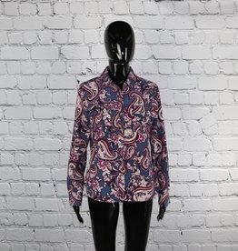 Croft & Barrow: Vintage Paisley Shirt for Gals