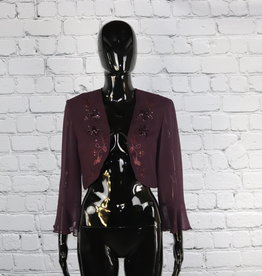 S.L. Fashion: 1980's Vintage Blazer with Sequin Detailing for Gals