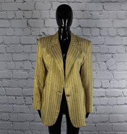 Lori Zoni: 1970's Vintage Metallic Gold Blazer for Gals