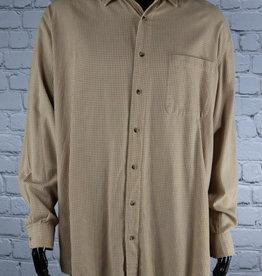 High Sierra: Vintage Orange Button Down Shirt for Guys