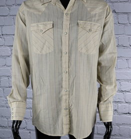 Dee Cee Rangers: 1970's Vintage Striped Shirt with Pearl Buttons for Guys