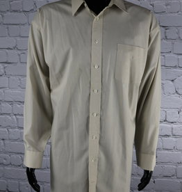 Stafford: 1990's Vintage Grey Button Down Shirt for Guys