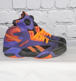Reebok: 1990's Vintage Purple, Black and Orange Pump-Up Kicks for Guys