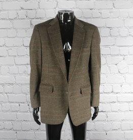 JoS. A. Banks: Vintage Brown and Grey Plaid Blazer for Guys